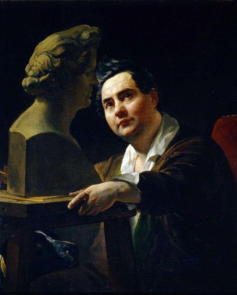 Портрет скульптора В. П. Віталі   Карл Брюллов