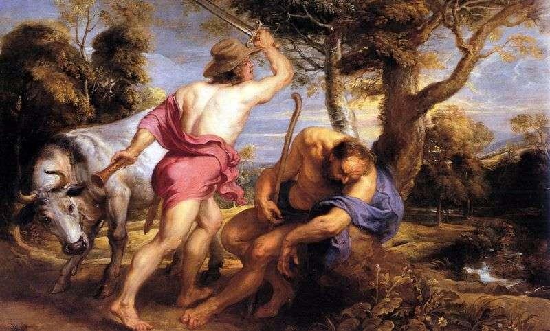 Меркурій і Аргус   Пітер Рубенс
