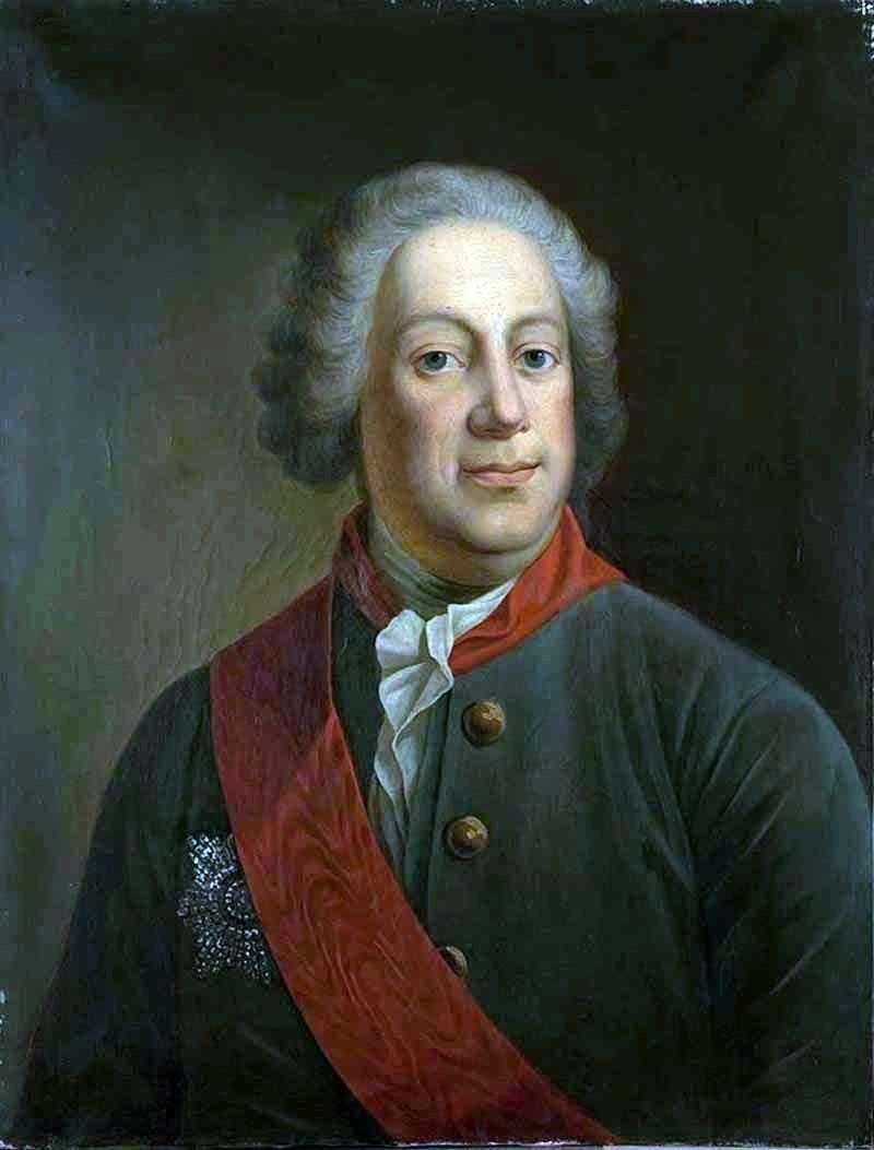 Портрет барона І. А. Корфа, президента Імператорської Академії наук   Іван Олексійович Тюрін