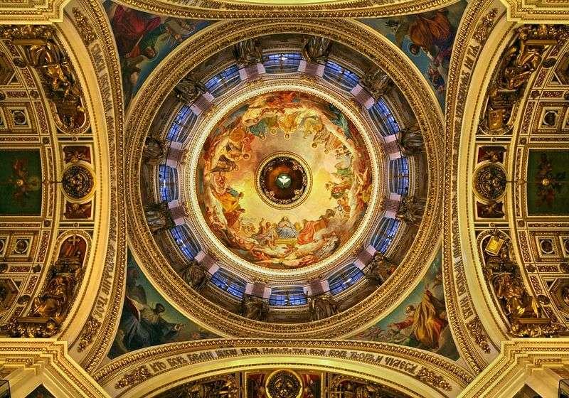 Розпису плафона Ісаакіївського собору   Карл Брюллов
