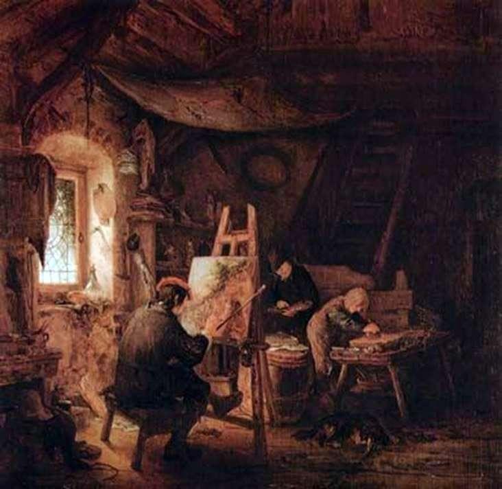 Майстерня художника   Адріан ван Остаде