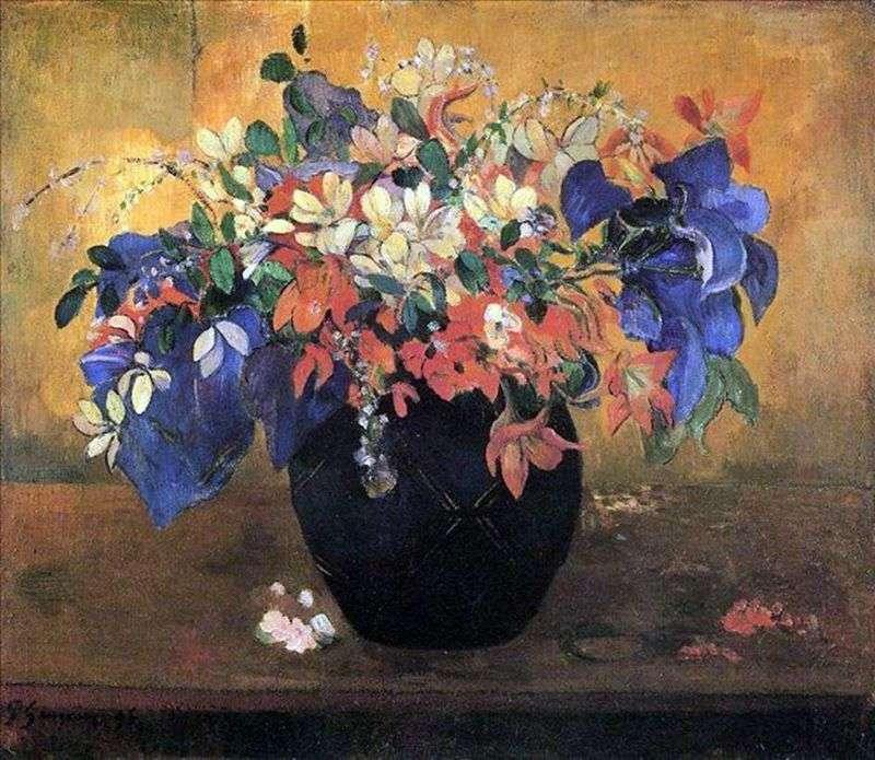 Букет квітів   Поль Гоген