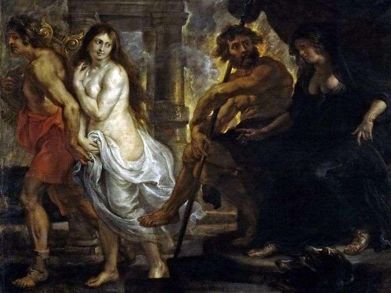 Орфей і Еврідіка   Пітер Рубенс