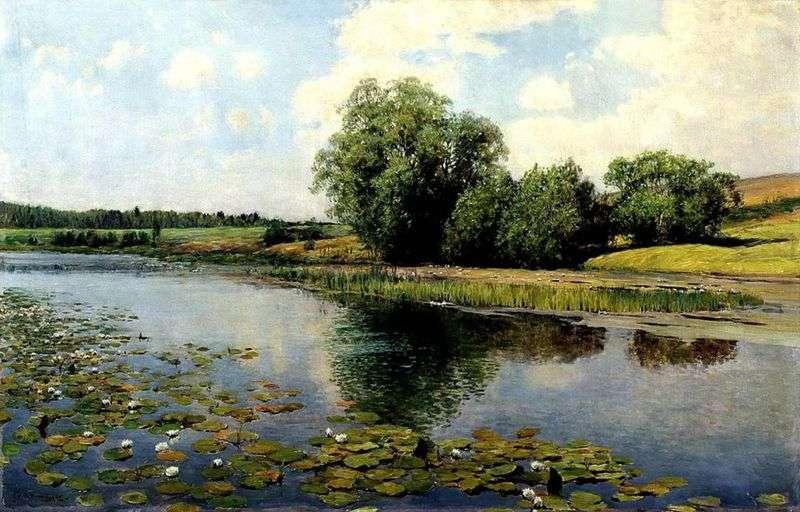 Річка опівдні   Ілля Остроухов