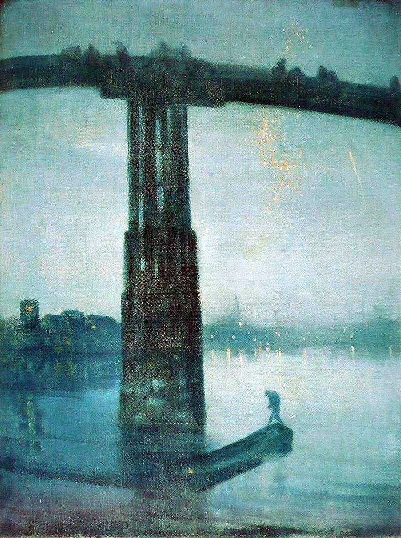 Ноктюрн в синьому і золотом: Старий міст у Баттерсі   Джеймс Уістлер