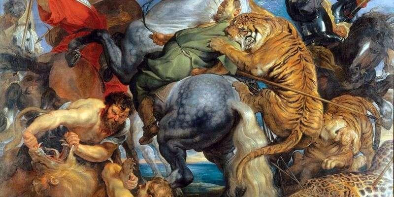 Полювання на тигрів і левів   Пітер Рубенс