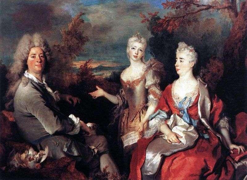 Сімейний портрет   Нікола де Ларжильер