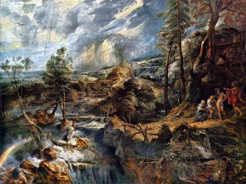 Пейзаж   Грізний краєвид   Пітер Рубенс