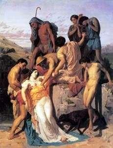 Зенобій, знайдена пастухами на берегах Аракси   Адольф Бугеро