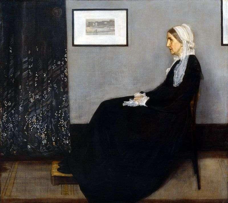 Аранжування в сірому і чорному № 1: портрет матері   Джеймс Уістлер