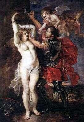 Персей, який звільняє Андромеду   Пітер Рубенс