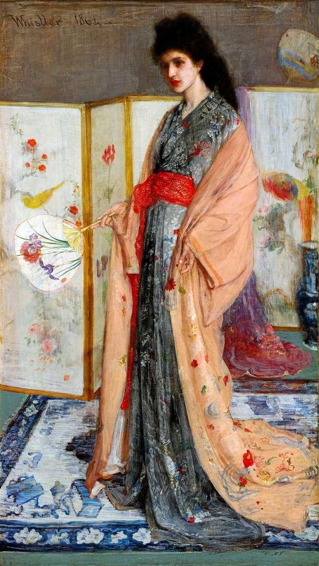 Принцеса з Країни порцеляни   Джеймс Уістлер