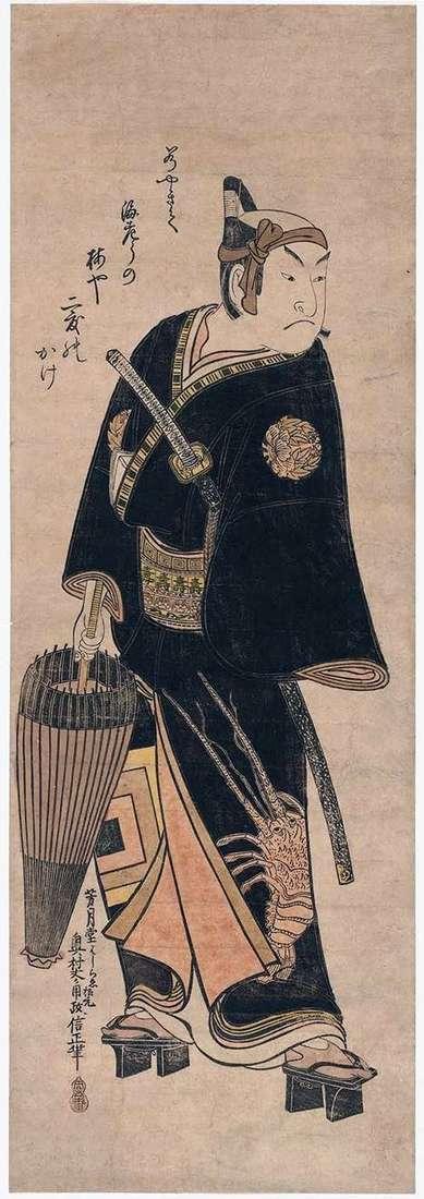 Актор Ітікава Эбидзо в ролі Сукэроку   Окумура Масанобу