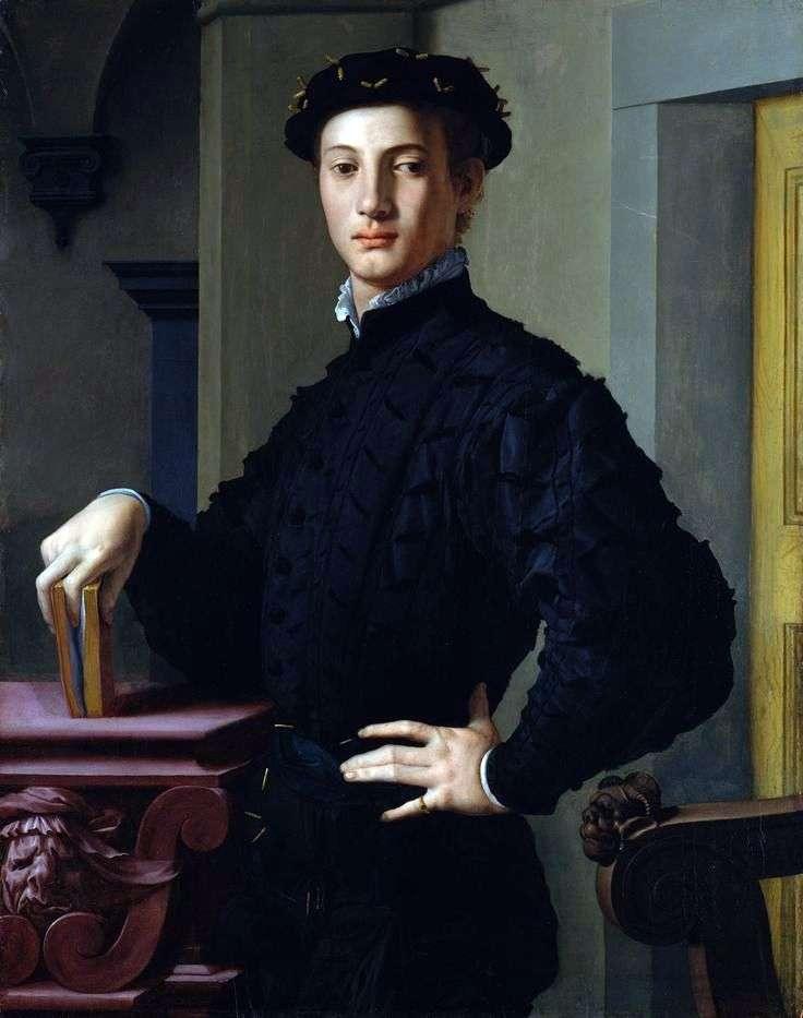 Портрет молодої людини   Аньоло Бронзіно