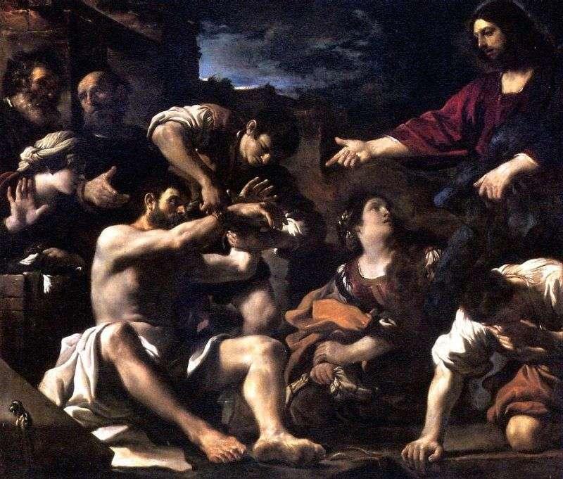 Воскресіння Лазаря   Гверчино