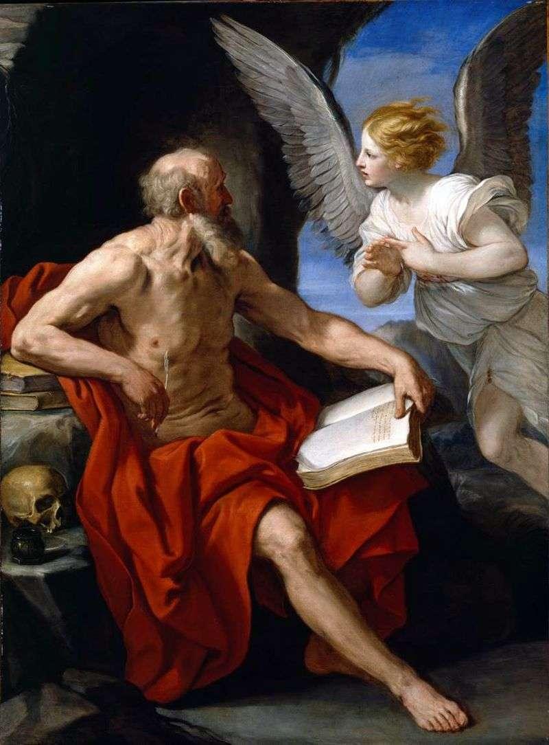 Святий Ієронім і ангел   Гвідо Рені