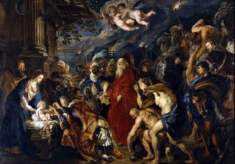 Поклоніння волхвів   Пітер Рубенс