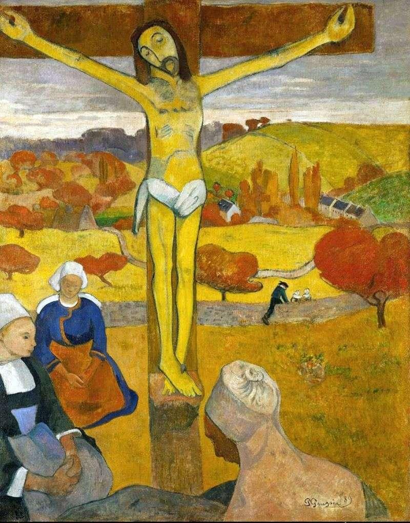 Жовтий Христос   Поль Гоген