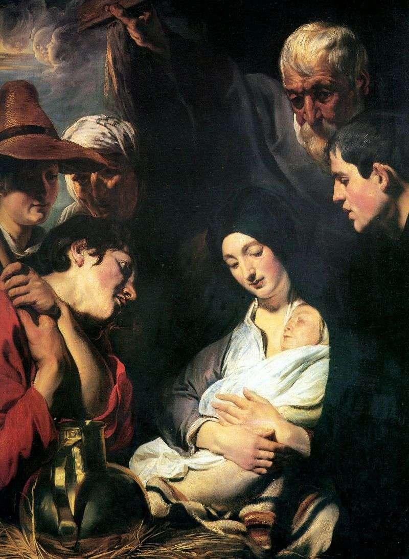 Поклоніння пастухів   Якоб Йорданс
