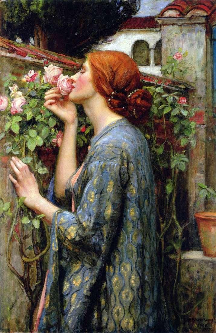 Моя кохана троянда   Джон Уотерхаус