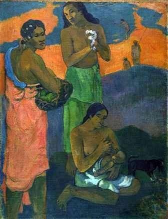 Жінки на березі моря (Материнство)   Поль Гоген