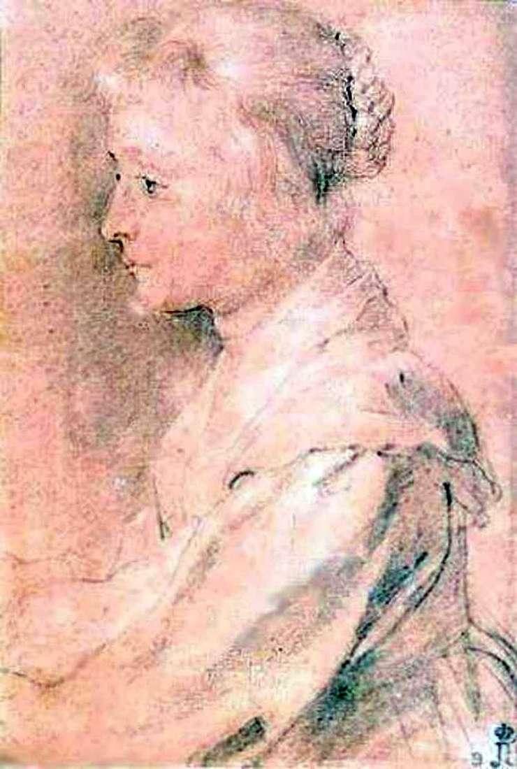 Портрет дочки Балтазара Жербье   Пітер Рубенс