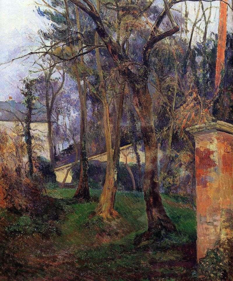 Занедбаний сад   Поль Гоген