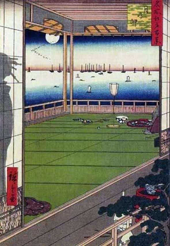 Місяць над мисом   Андо Хиросигэ