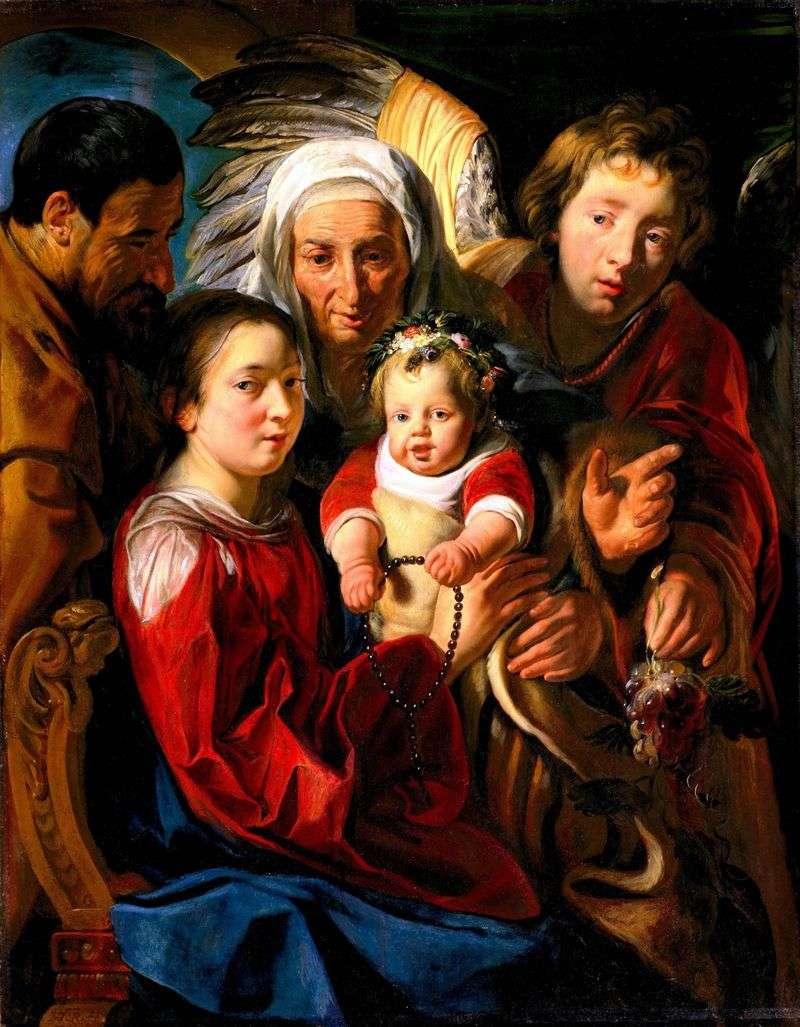 Святе сімейство   Якоб Йорданс