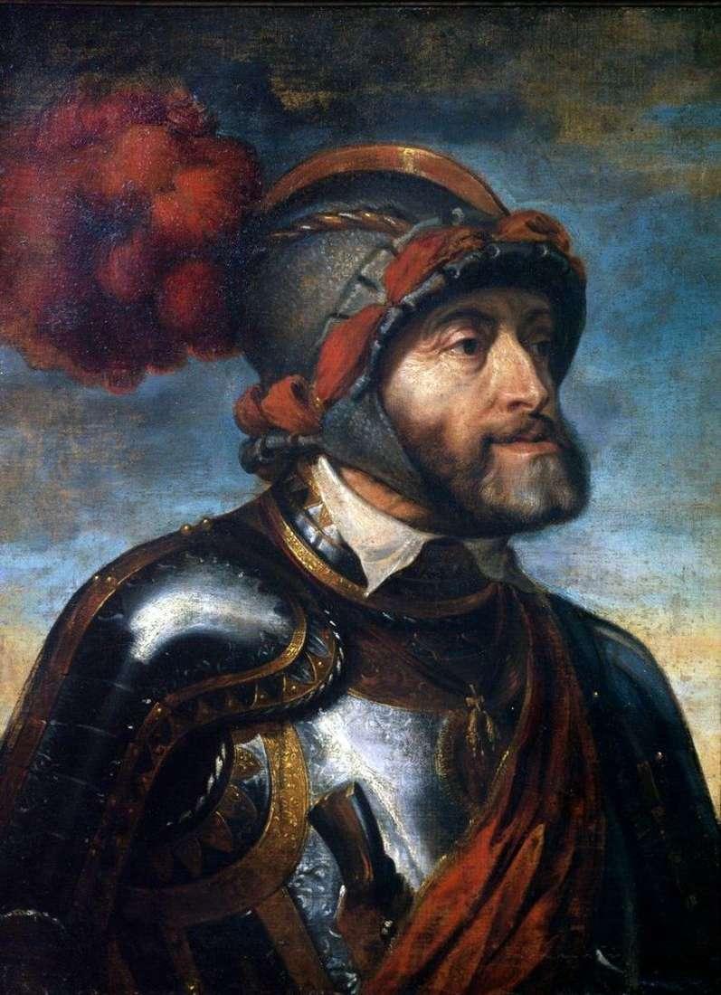 Портрет імператора Карла V   Пітер Рубенс