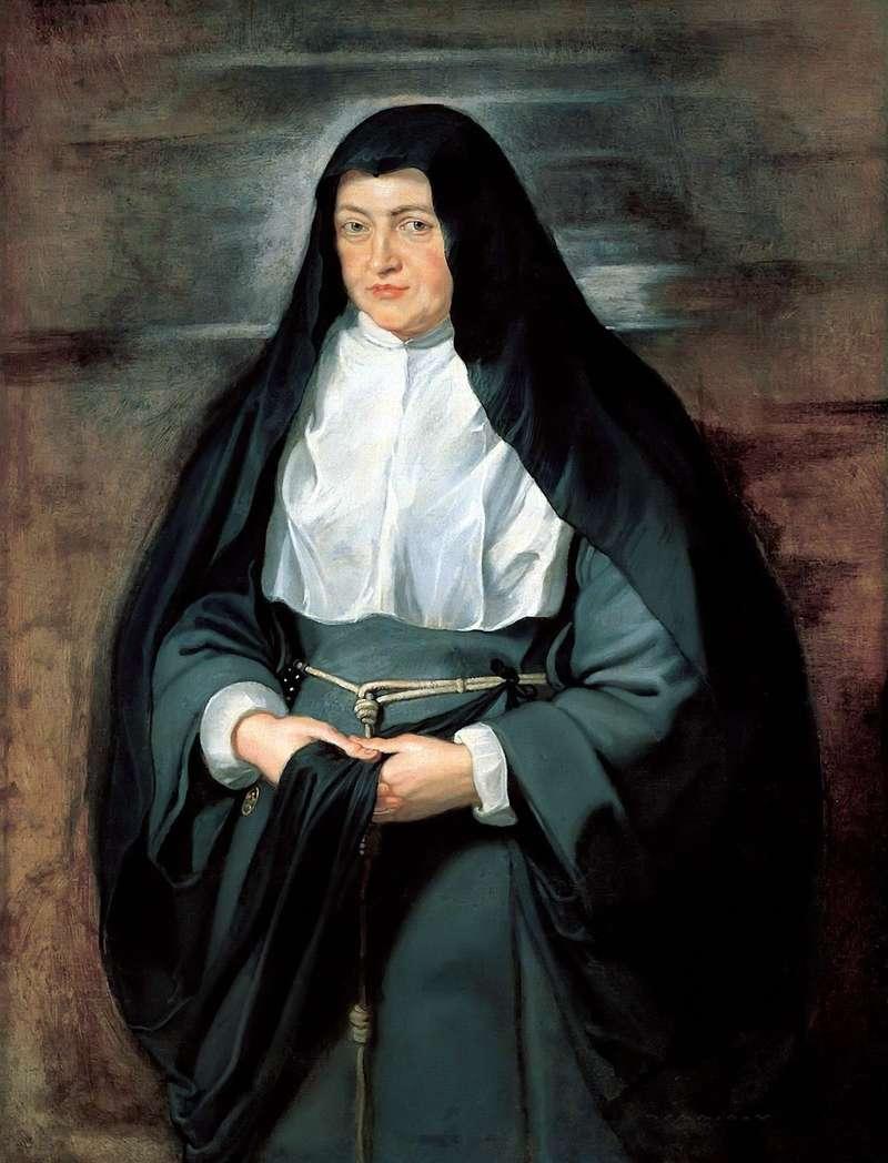 Портрет інфанти Ізабелли в костюмі черниці   Пітер Рубенс