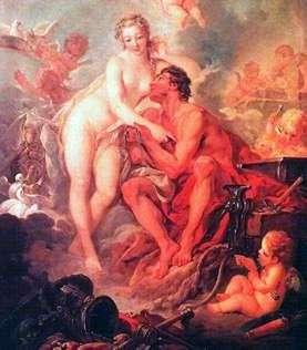 Венера, Вулкан   Франсуа Буше