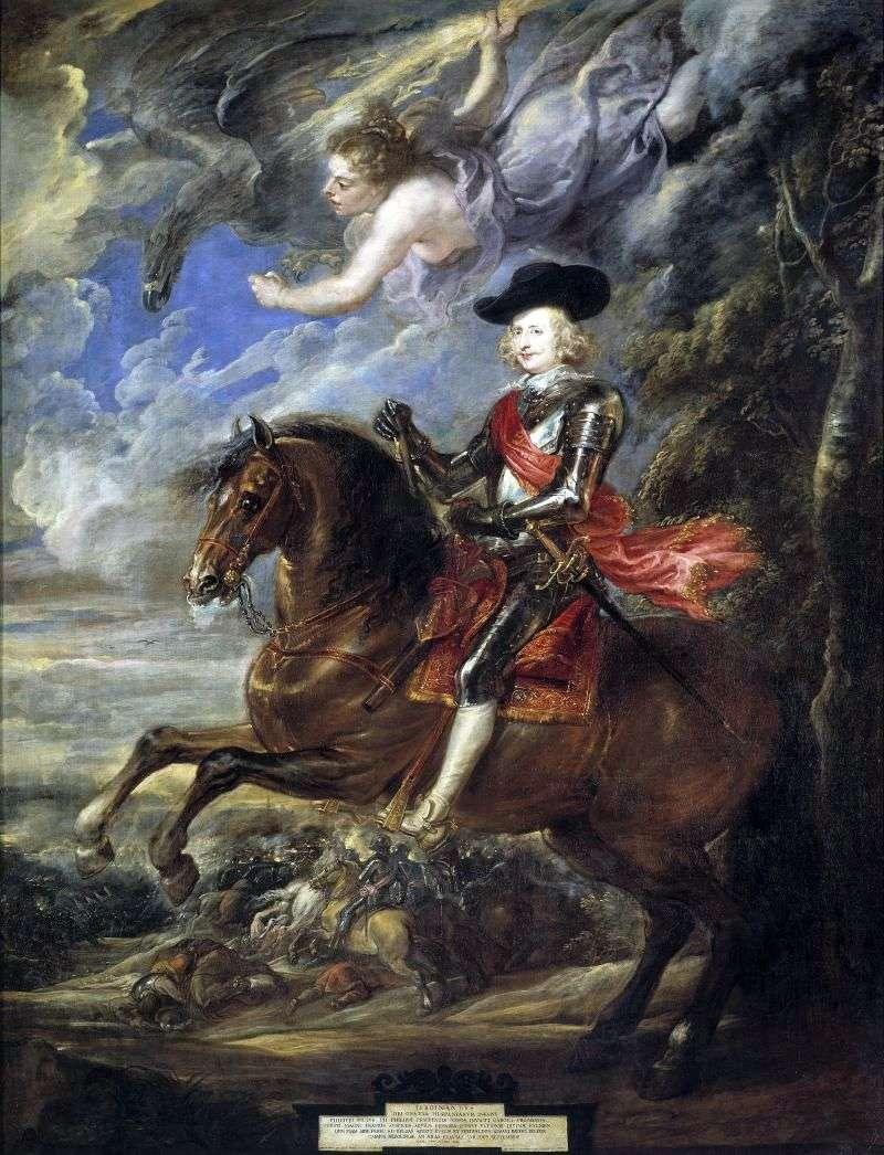 Портрет кардинал інфанта Фердинанда   Пітер Рубенс
