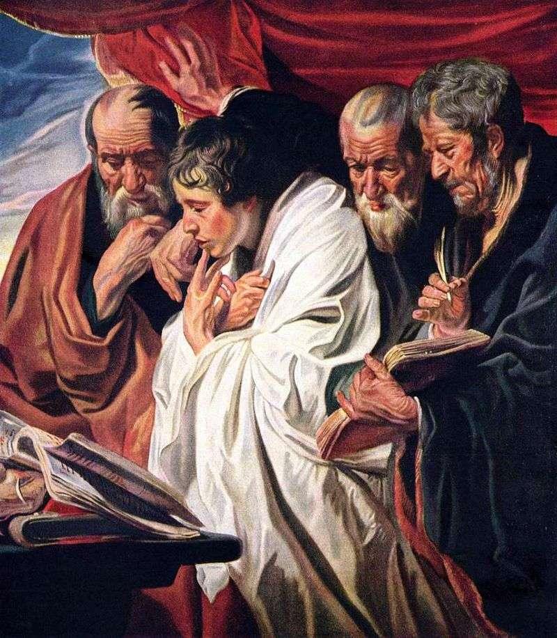 Чотири євангеліста   Якоб Йорданс