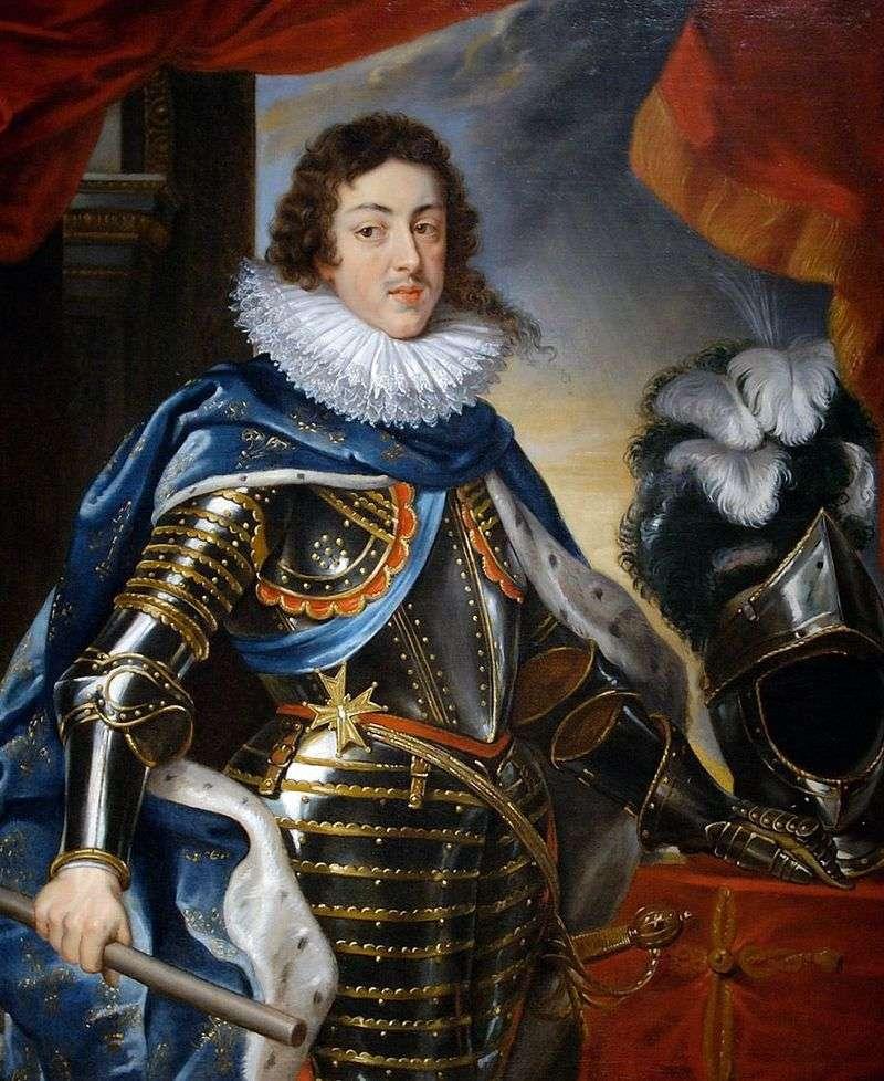 Портрет Людовика XIII, короля Франції   Пітер Рубенс