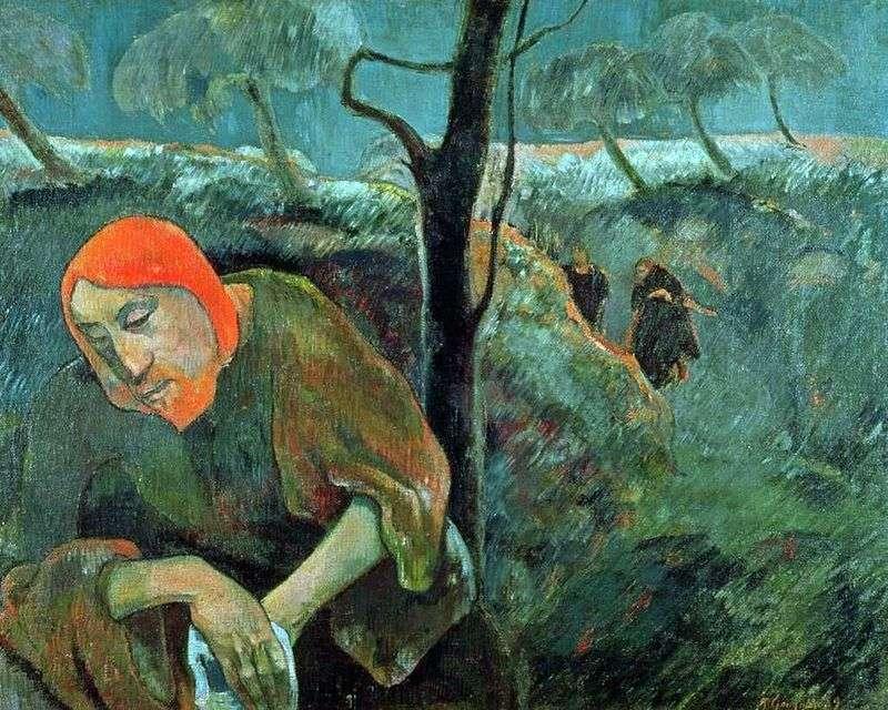 Моління про чашу (Христос в Гефсиманському саду)   Поль Гоген