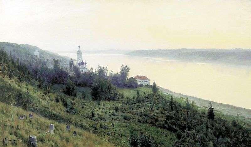 Золотий Плесо   Ісаак Левітан