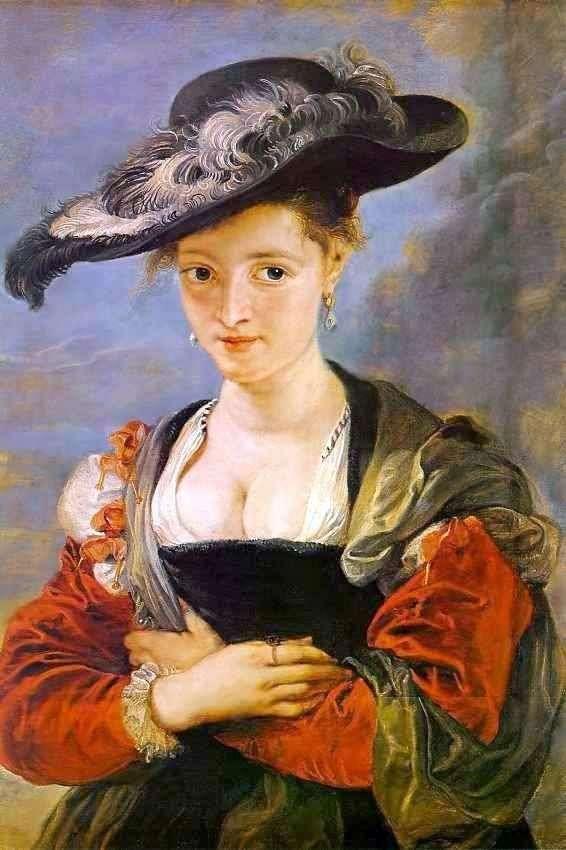 Портрет Сюзанни Фоурмент (Соломяний капелюшок)   Пітер Рубенс