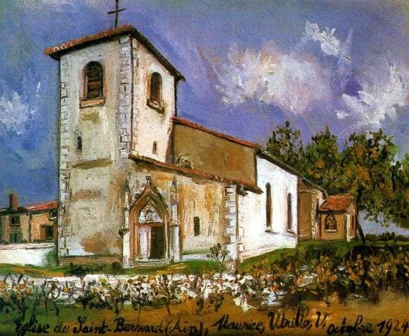 Церква Сен Бернар   Моріс Утрілло