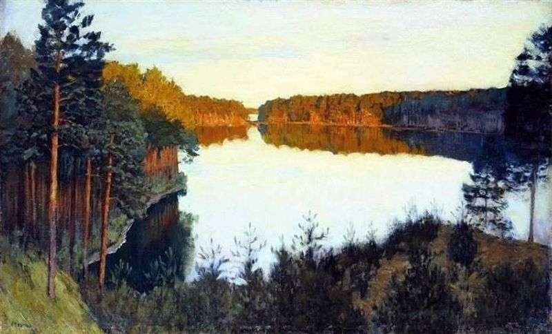 Лісове озеро   Ісаак Левітан