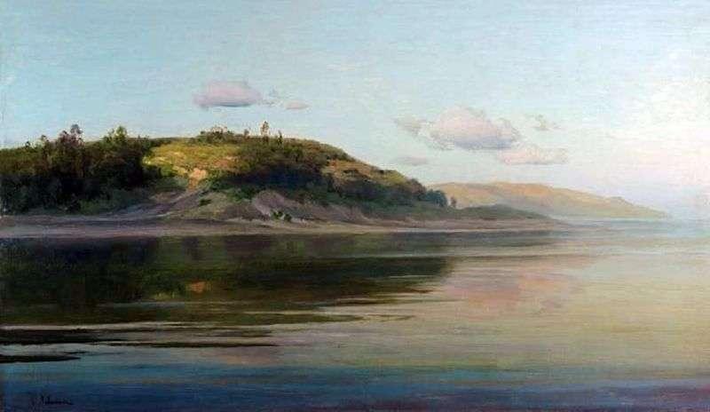 Літній вечір. Річка   Ісаак Левітан