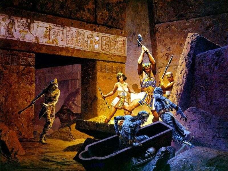 Варта фараонів   Кит Паркінсон