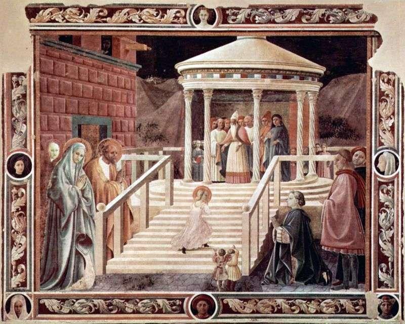 Введення в храм пресвятої Богородиці   Паоло Уччелло