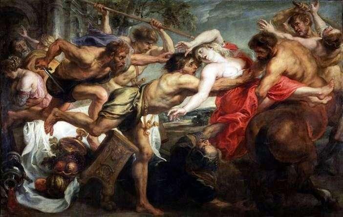 Викрадення Гіпподамії   Пітер Рубенс