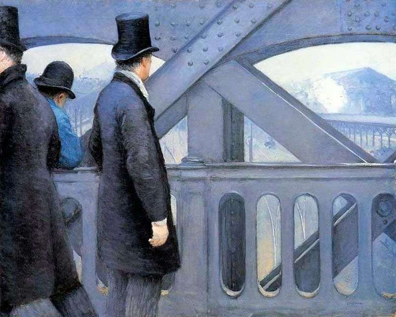 На мосту Європи   Гюстав Кайботт