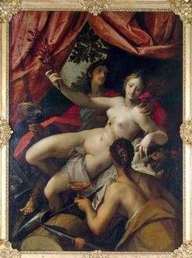 Алегорія Світу, Мистецтва і Достатку   Ханс фон Аахен
