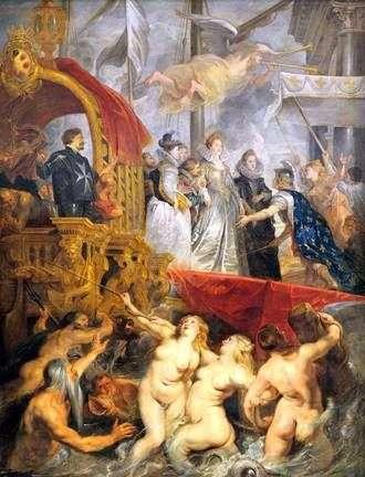 Прибуття Марії Медичі в Марсель   Пітер Рубенс