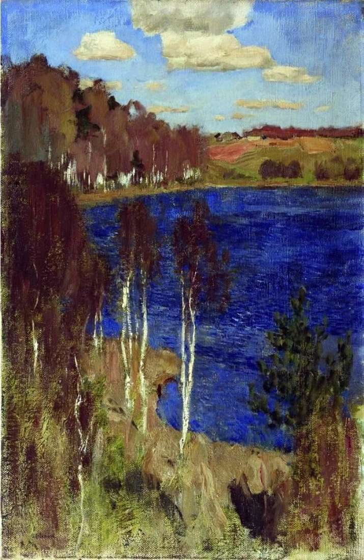 Озеро. Весна   Ісаак Левітан