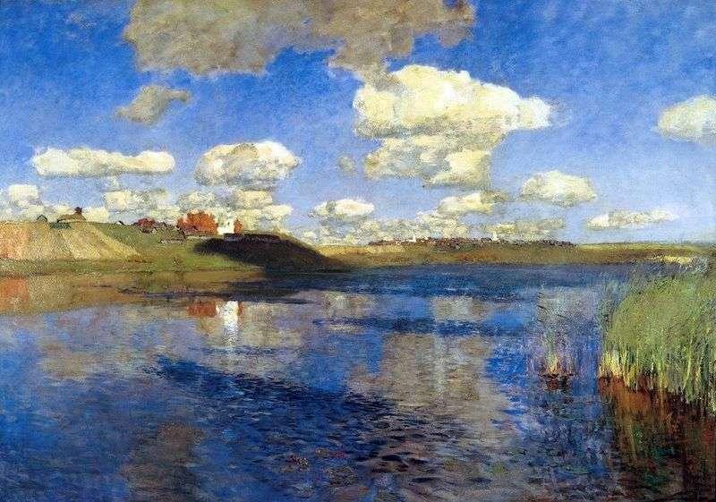 Озеро. Русь   Ісаак Левітан