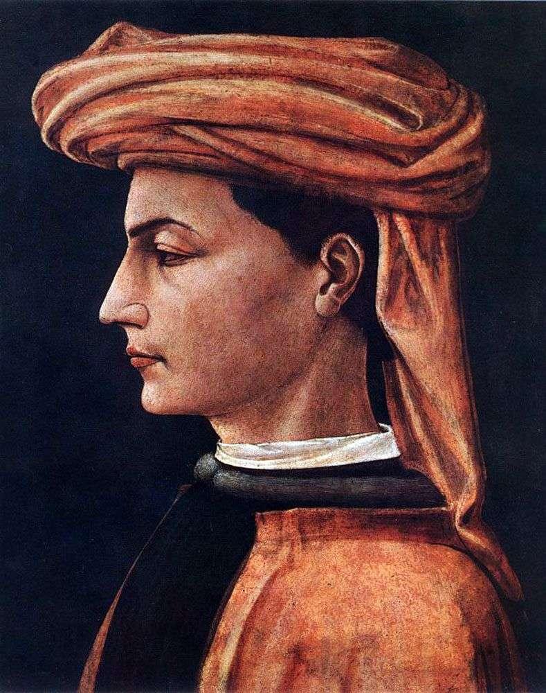 Портрет молодої людини   Паоло Уччелло